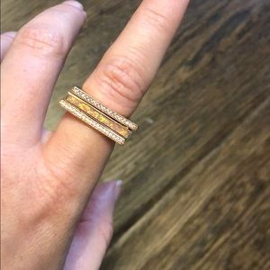 Kendra Scott Lucia rose gold rings
